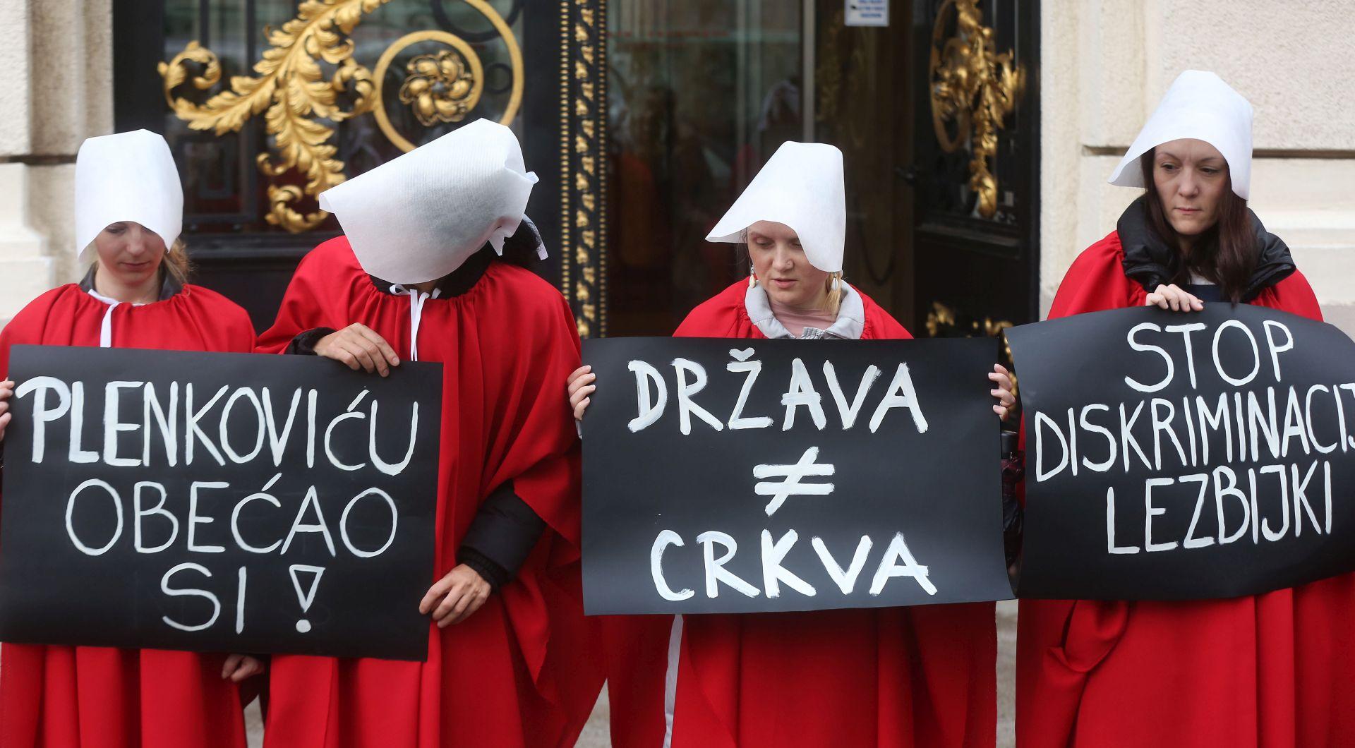 """Održana prosvjedna akcija """"STOP fundamentalističkom nasilju nad ženama"""""""