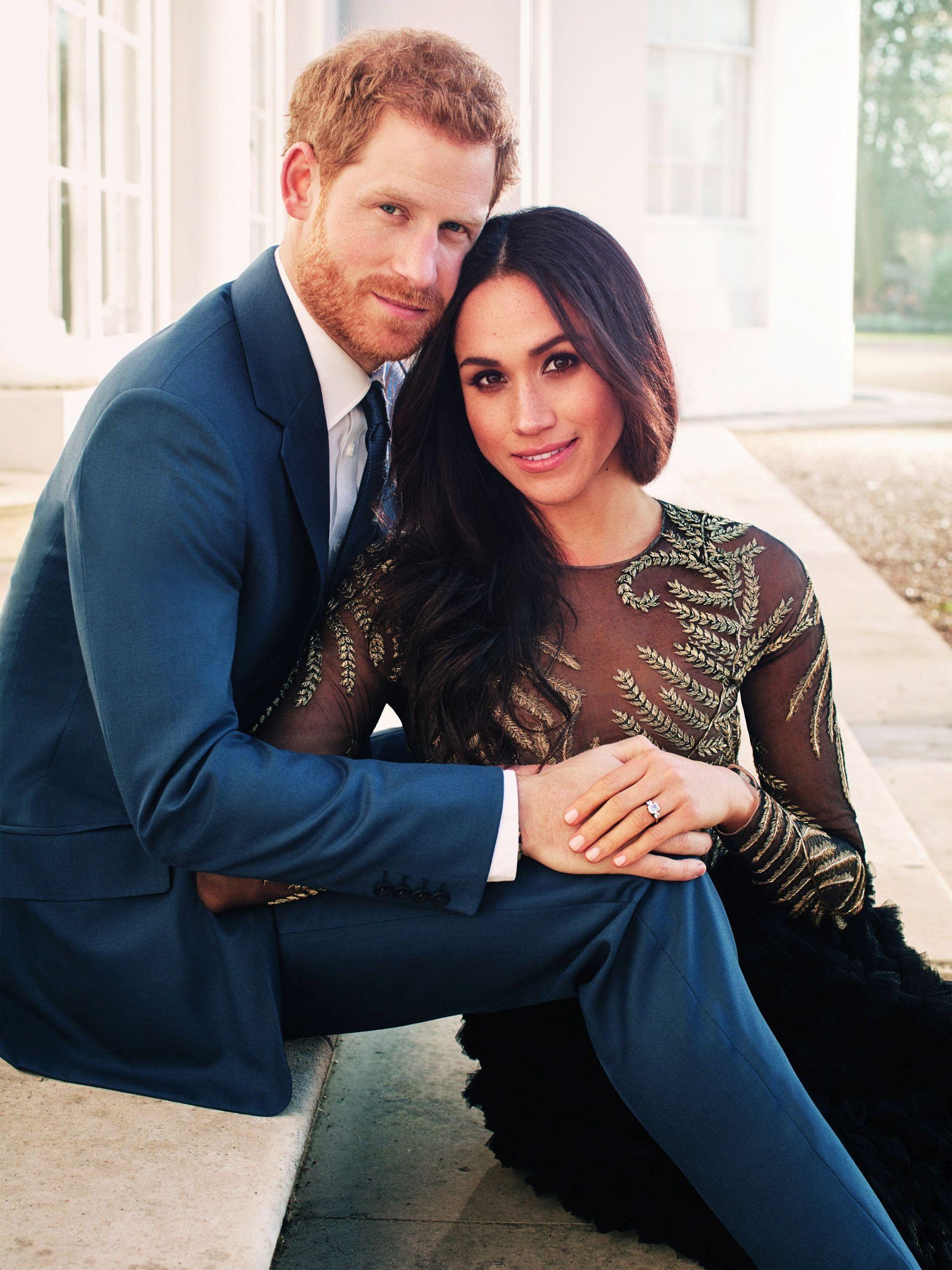 Princ Harry i Meghan Markle objavili zaručničke fotografije