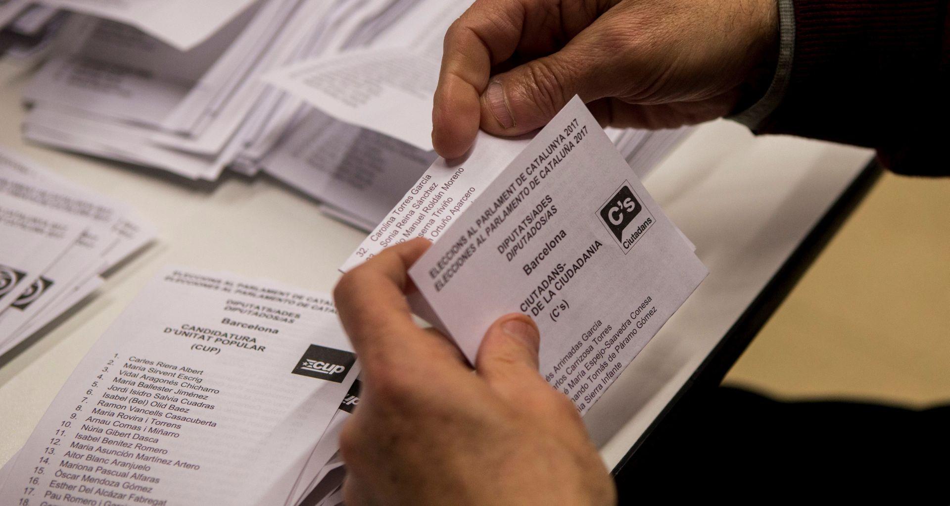PRVI REZULTATI Zagovornicima nezavisnosti Katalonije većina u parlamentu