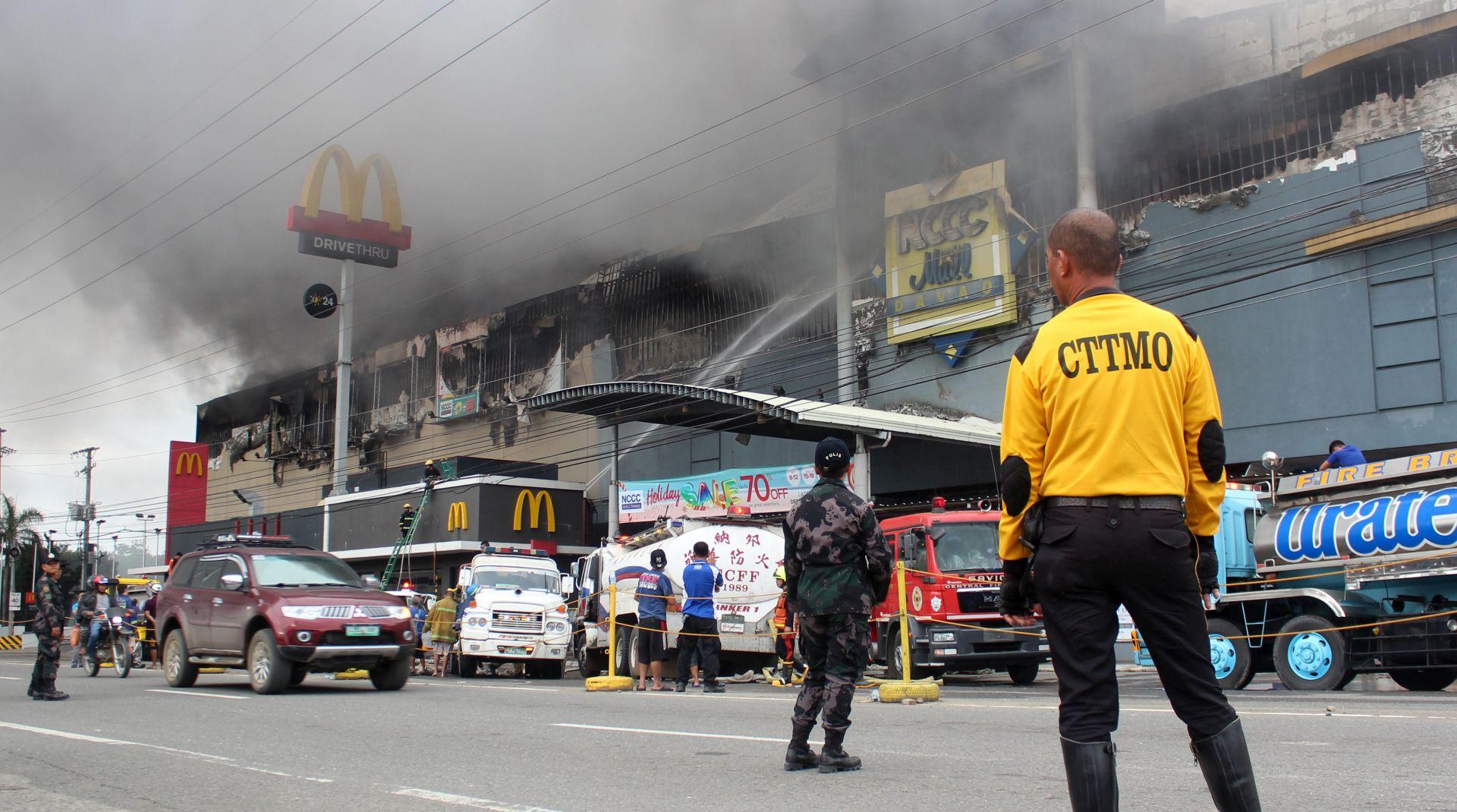 FILIPINI U požaru trgovačkog centra najmanje 37 mrtvih
