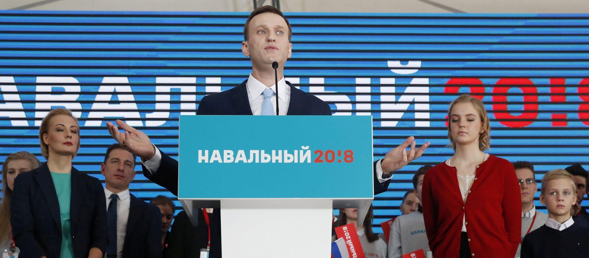 KREMLJ Navaljni se ne može kandidirati na ruskim predsjedničkim izborima