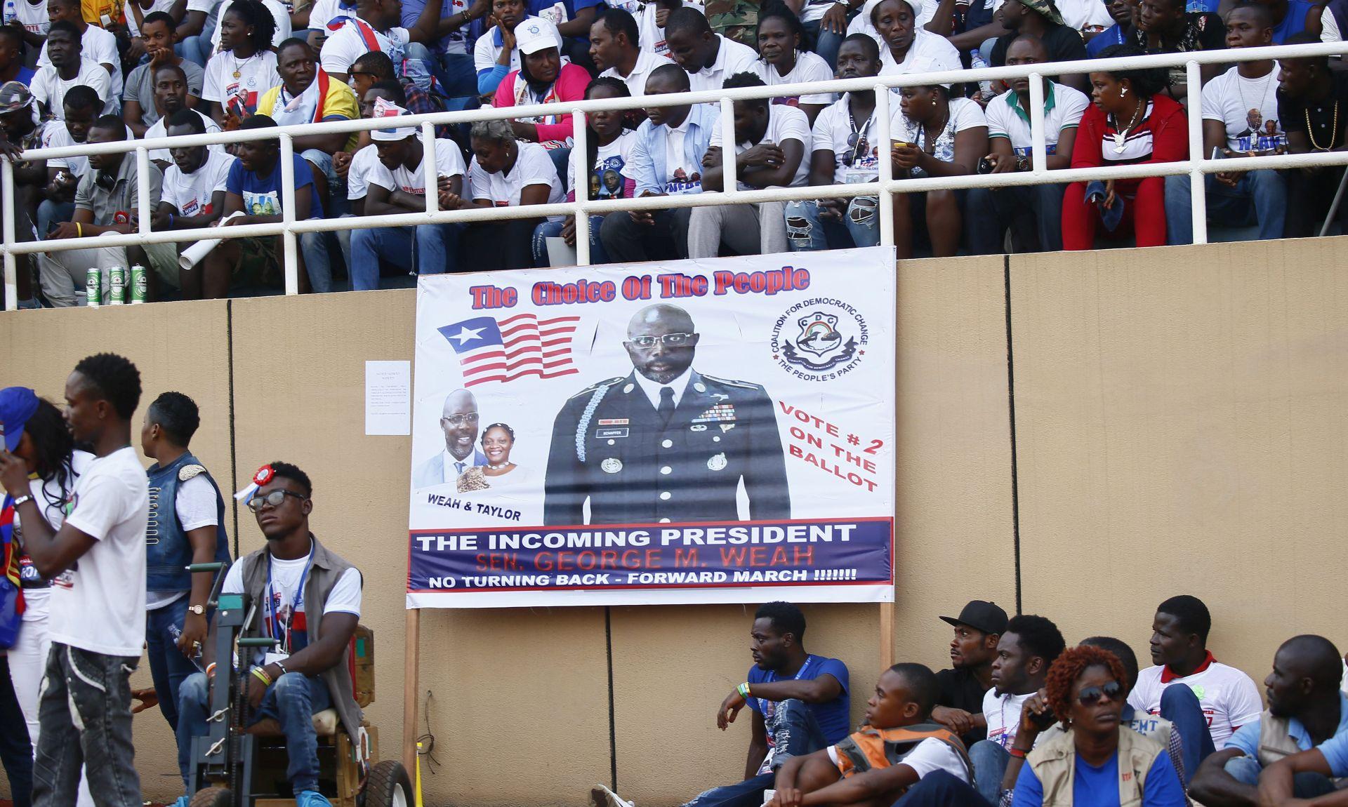 Liberija danas bira novog predsjednika