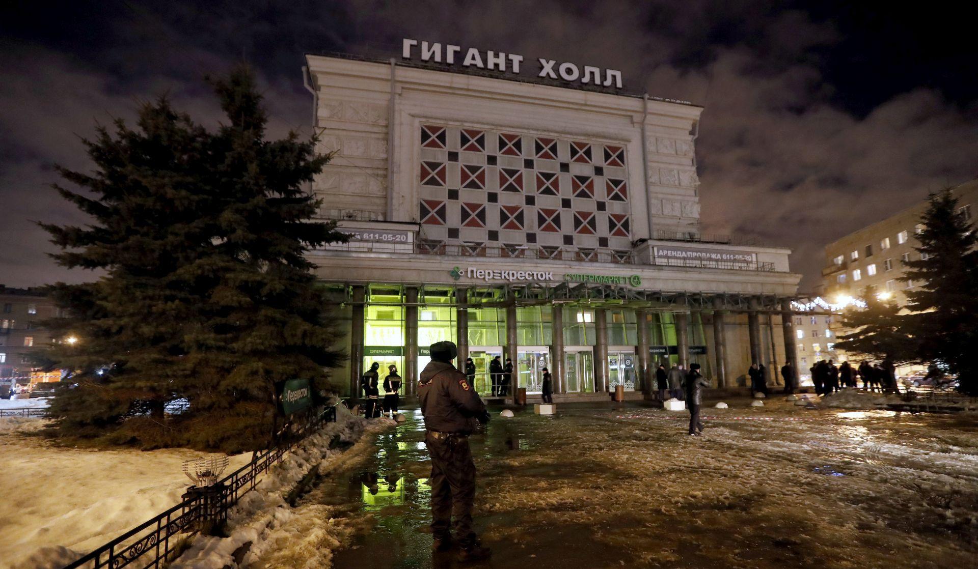 Uhićen napadač na trgovački centar u Sankt Peterburgu