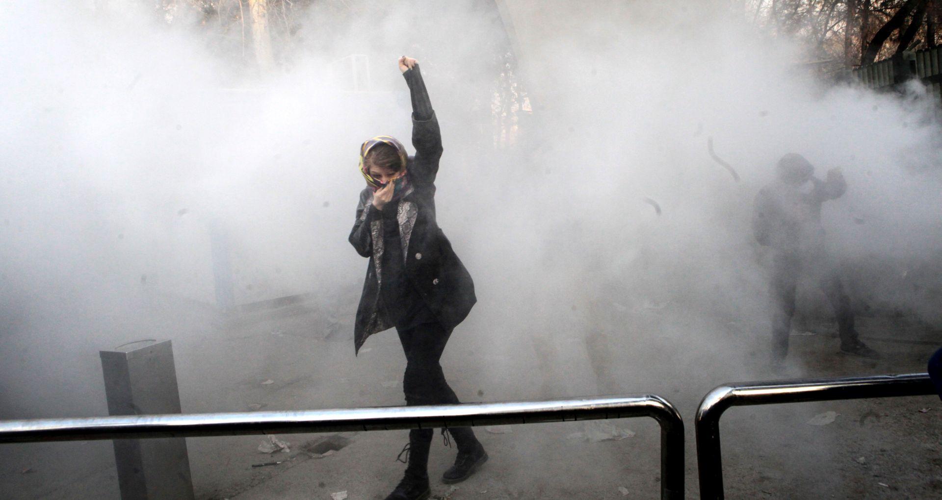 Trump podržao prosvjede u Iranu