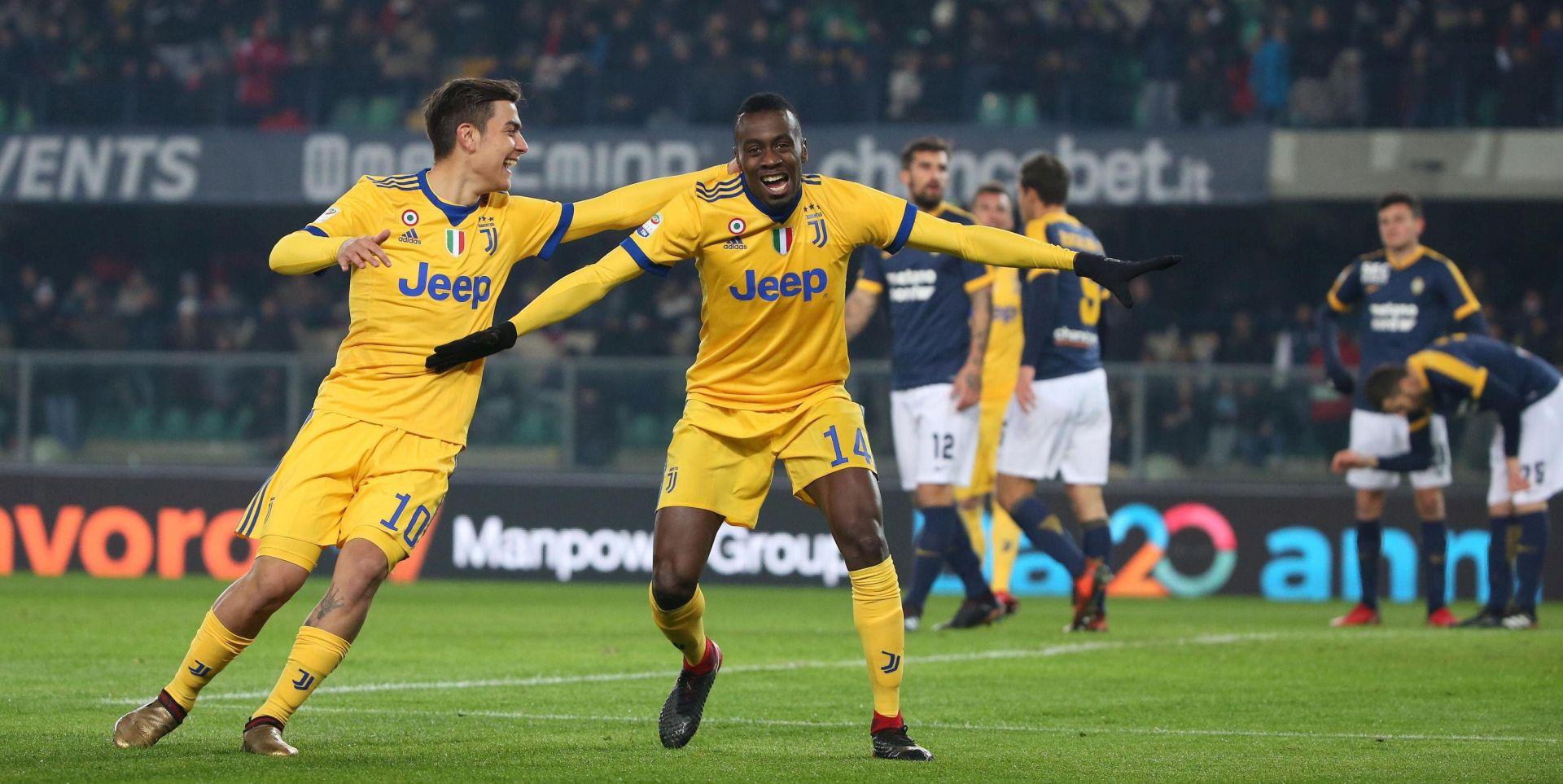 Juventus slavio kod Verone, dva gola Dybale