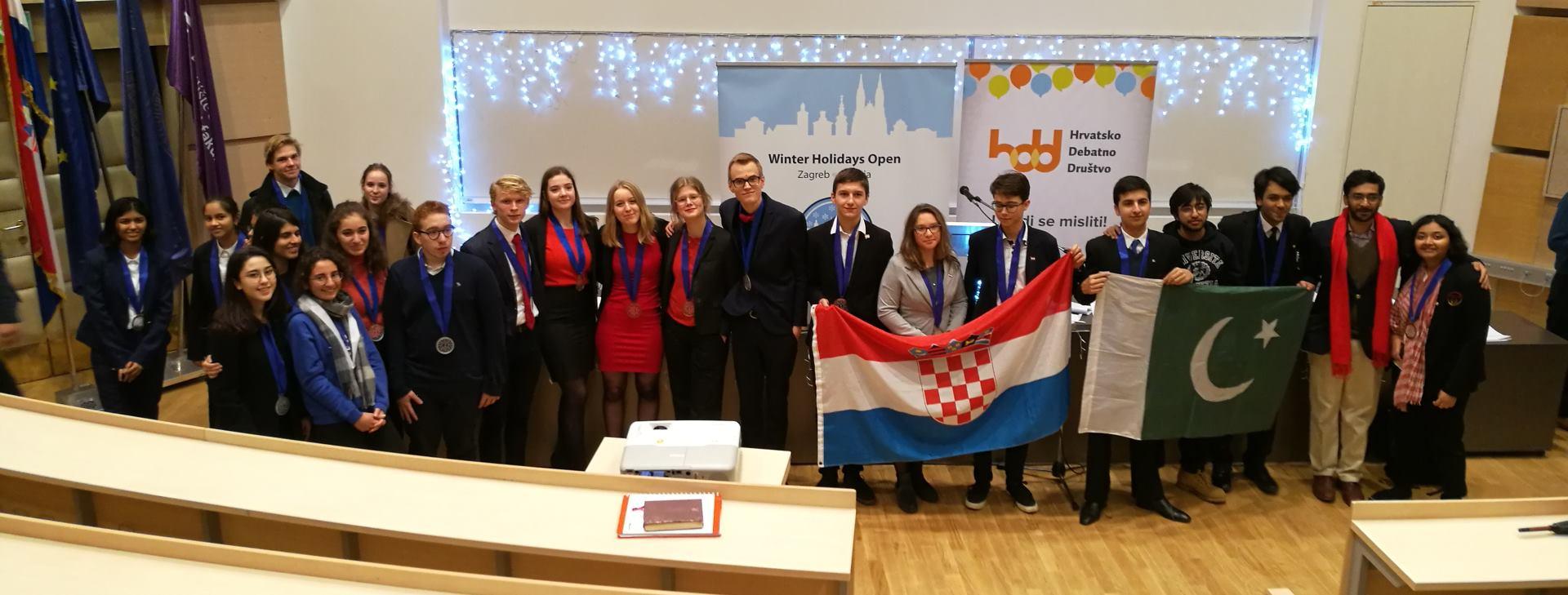 Održan najveći međunarodni debatni turnir Europe – pobjednici su ekipe Hrvatske i Pakistana
