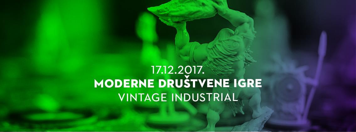 Moderne društvene igre u Vintage Industrialu