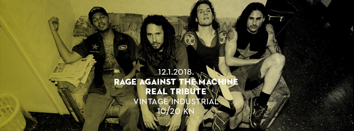 RATM Real Tribute u Vintage Industrialu