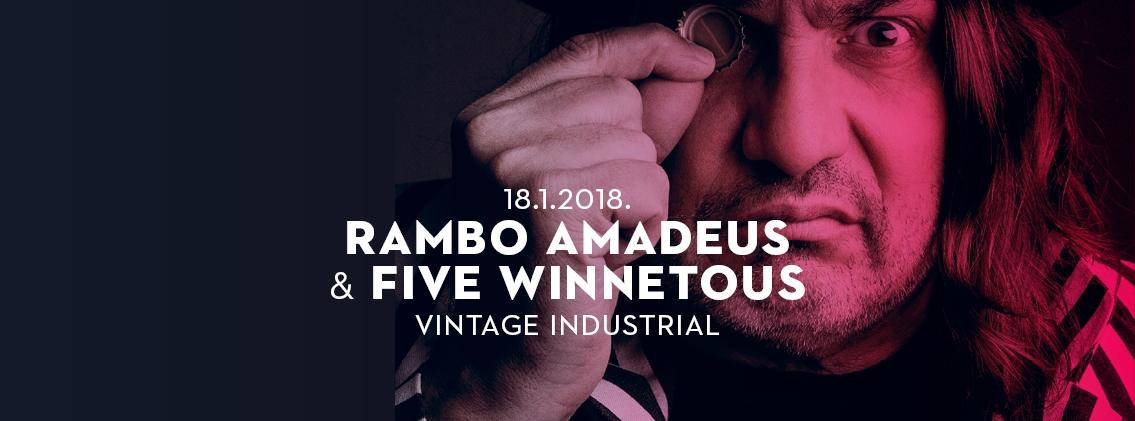 Zagrebački klubski koncert Ramba Amadeusa