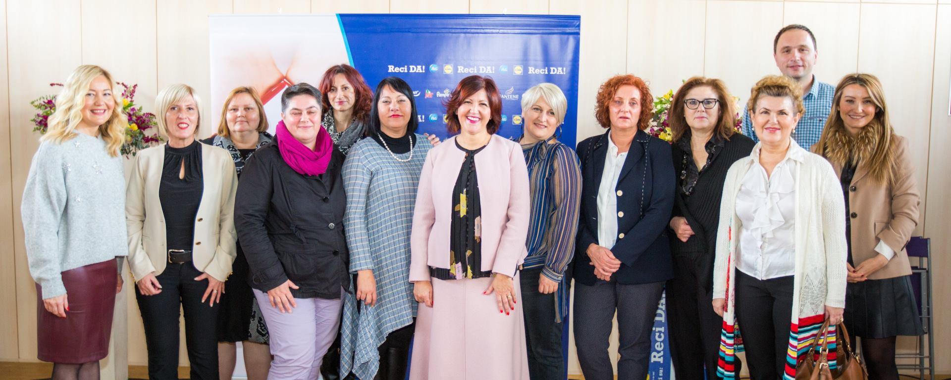 PROCTER&GAMBLE I LIDL HRVATSKA Zahvala svim sudionicima humanitarne kampanje 'Reci DA!' za obnovu 13 dječjih domova