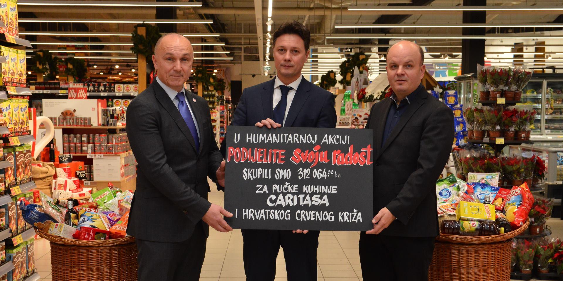 Humanitarna akcija Konzuma i domaćih dobavljača prikupila 312 tisuća kuna