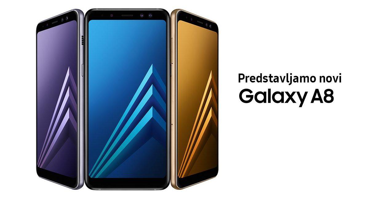 FOTO: Samsung predstavio Galaxy A8 (2018) s dvostrukom prednjom kamerom