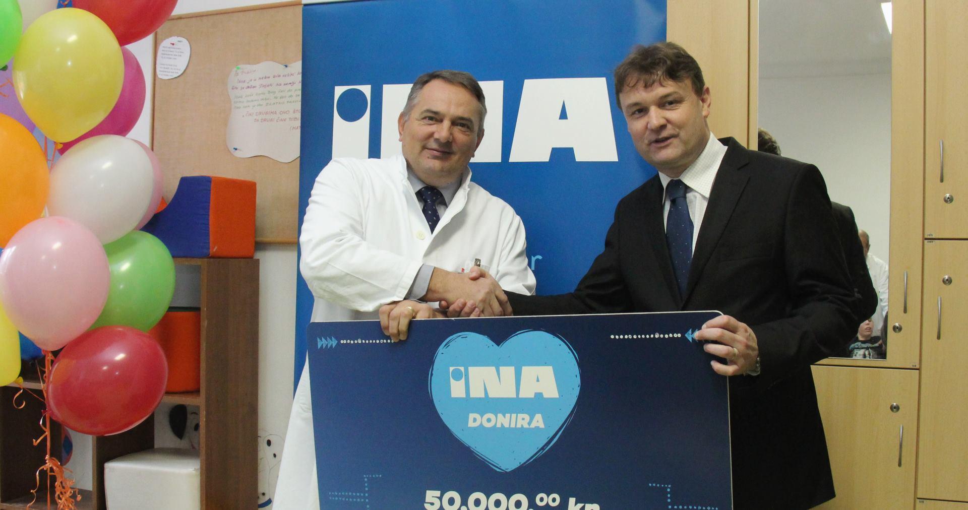 INA uručila donaciju Specijalnoj bolnici Gornja Bistra
