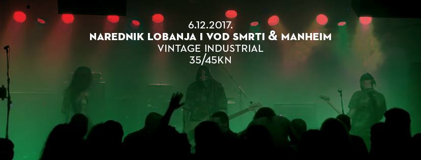 Metal lineup u Vintage Industrialu