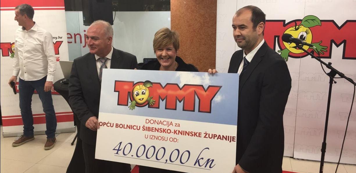 Otvaranje novog Tommy supermarketa i donacija Općoj bolnici Šibensko-kninske županije
