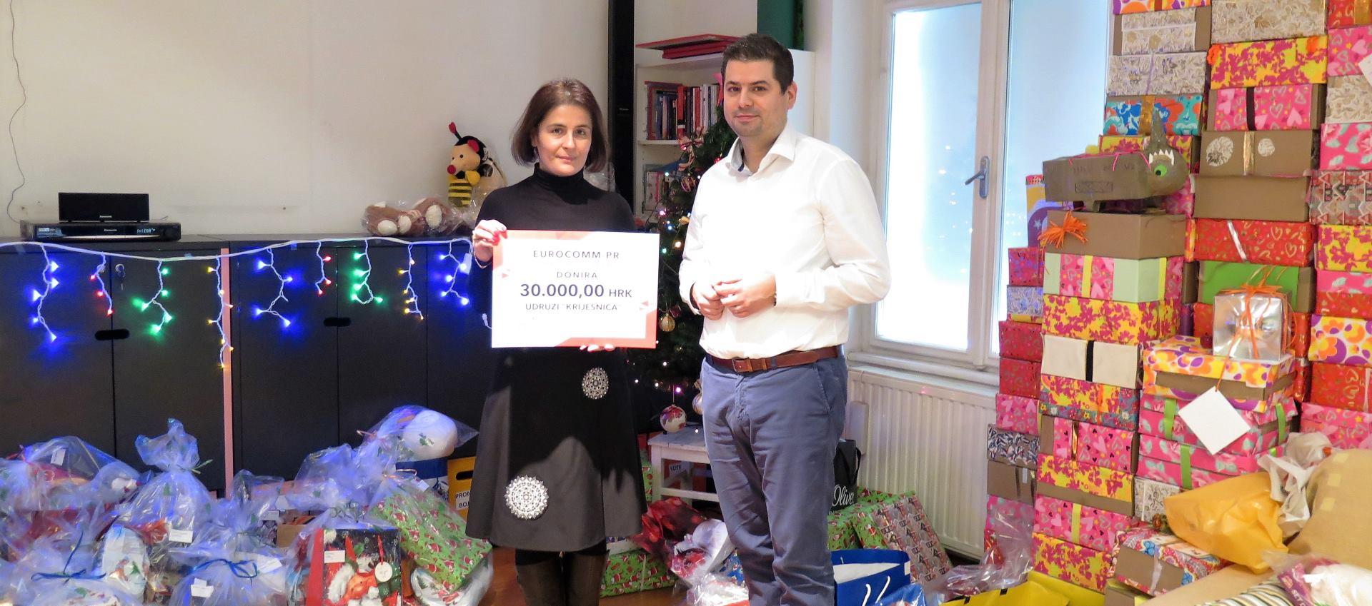Inozemni ured Grada Beča u Zagrebu uručio donaciju Udruzi Krijesnica