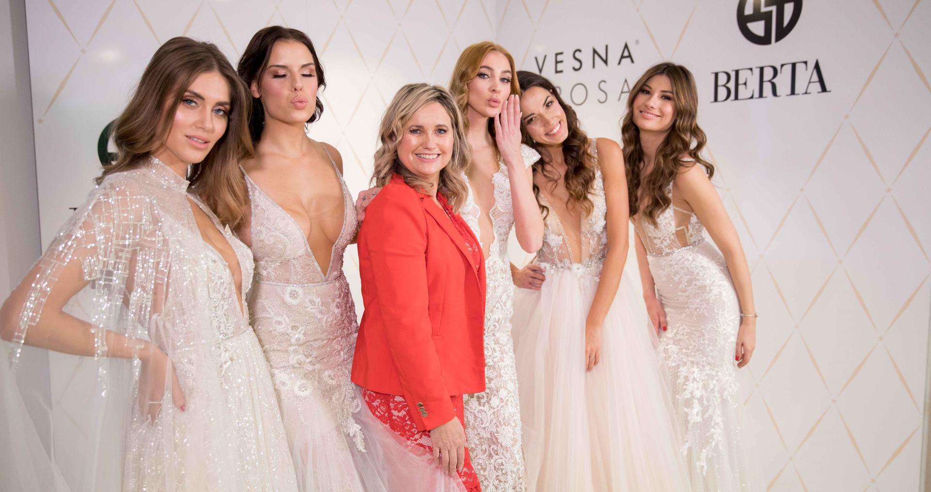 FOTO: Vrlo cijenjena etiketa Berta Beliti stigla u Vesna SPOSA salone