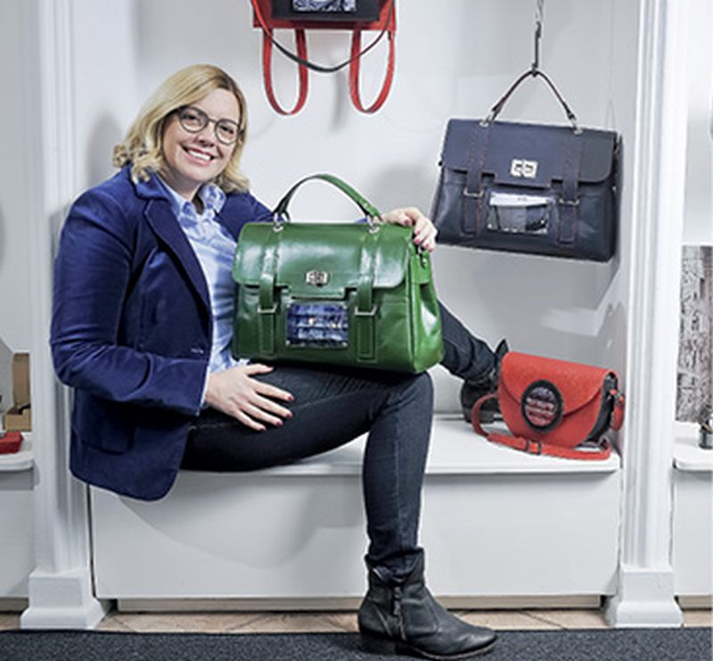 Prva zagrebačka trgovina torbi Kristine Fazinić