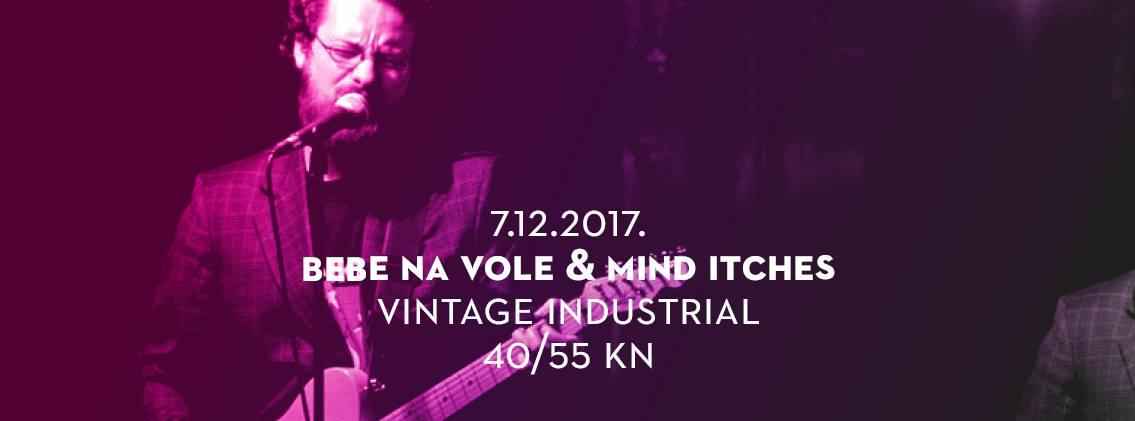 Bebe na Vole i Mind Itches na koncertu u Savskoj 160