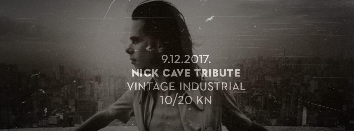 NICK CAVE TRIBUTE Beogradskih Cave Dogsi ponovo stižu u Vintage Industrial