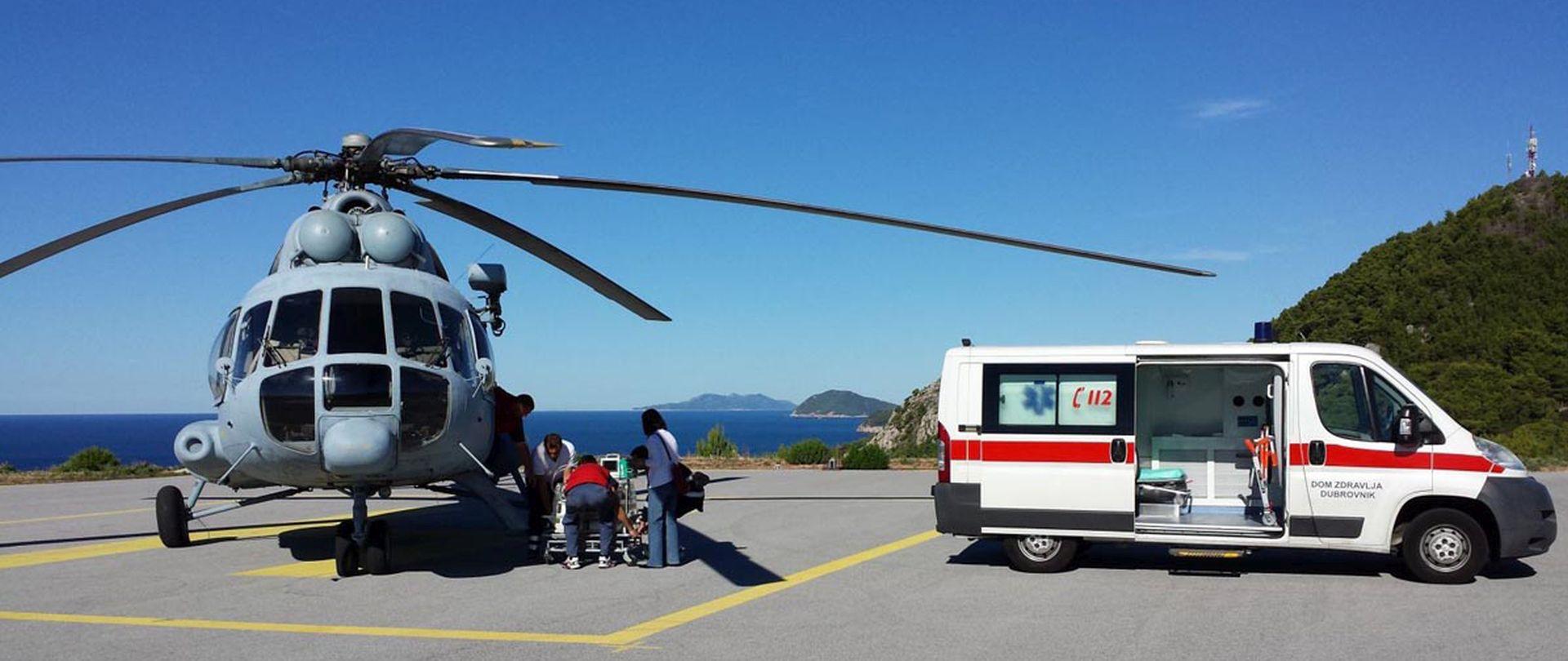 Tijekom vikenda helikopterima HRZ-a prevezena 22 pacijenata
