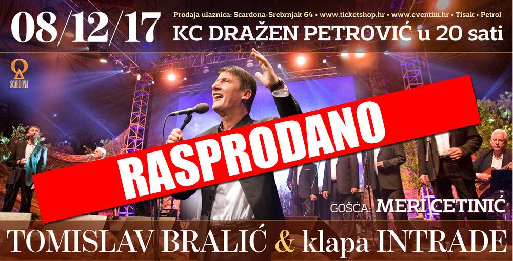 Tomislav Bralić i klapa Intrade i ove godine rasprodali tradiconalni koncert u Zagrebu