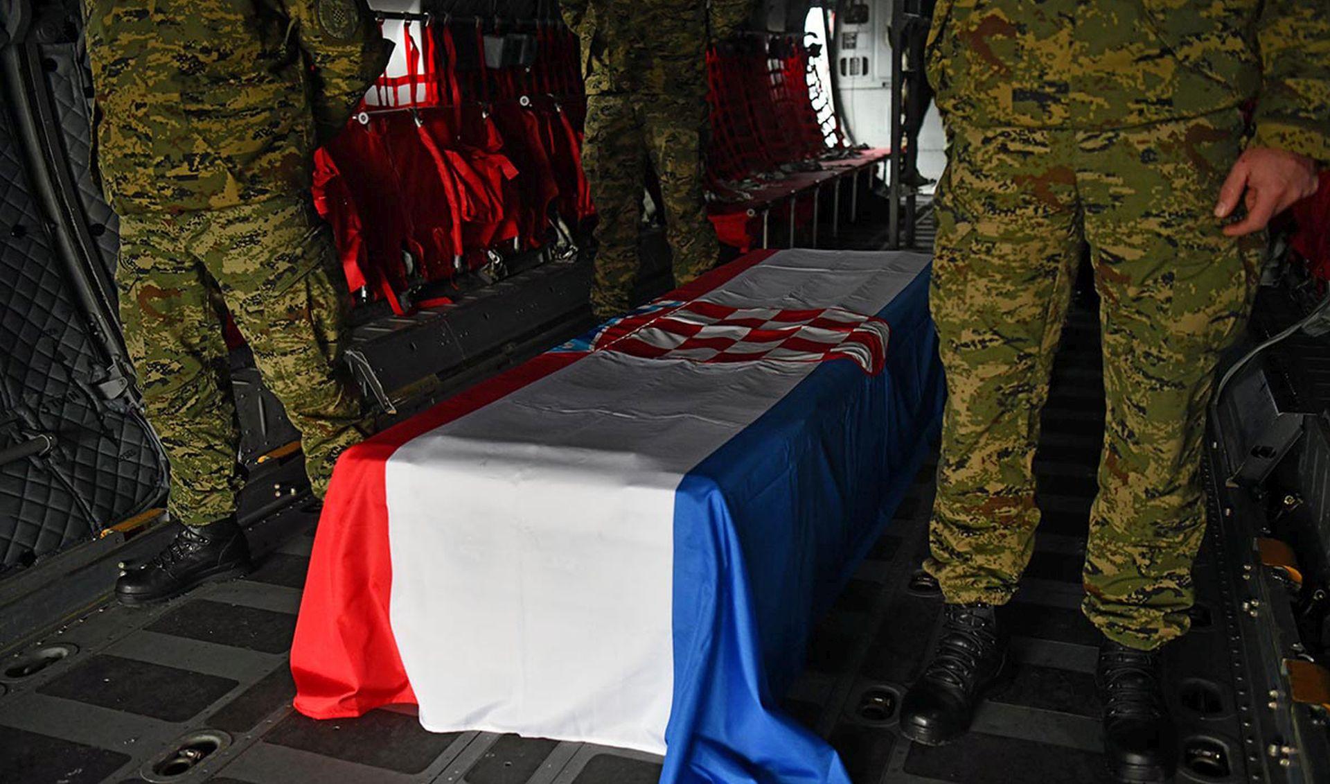 MORH: Tijelo umrlog pripadnika OS RH prevezeno iz Litve u Hrvatsku