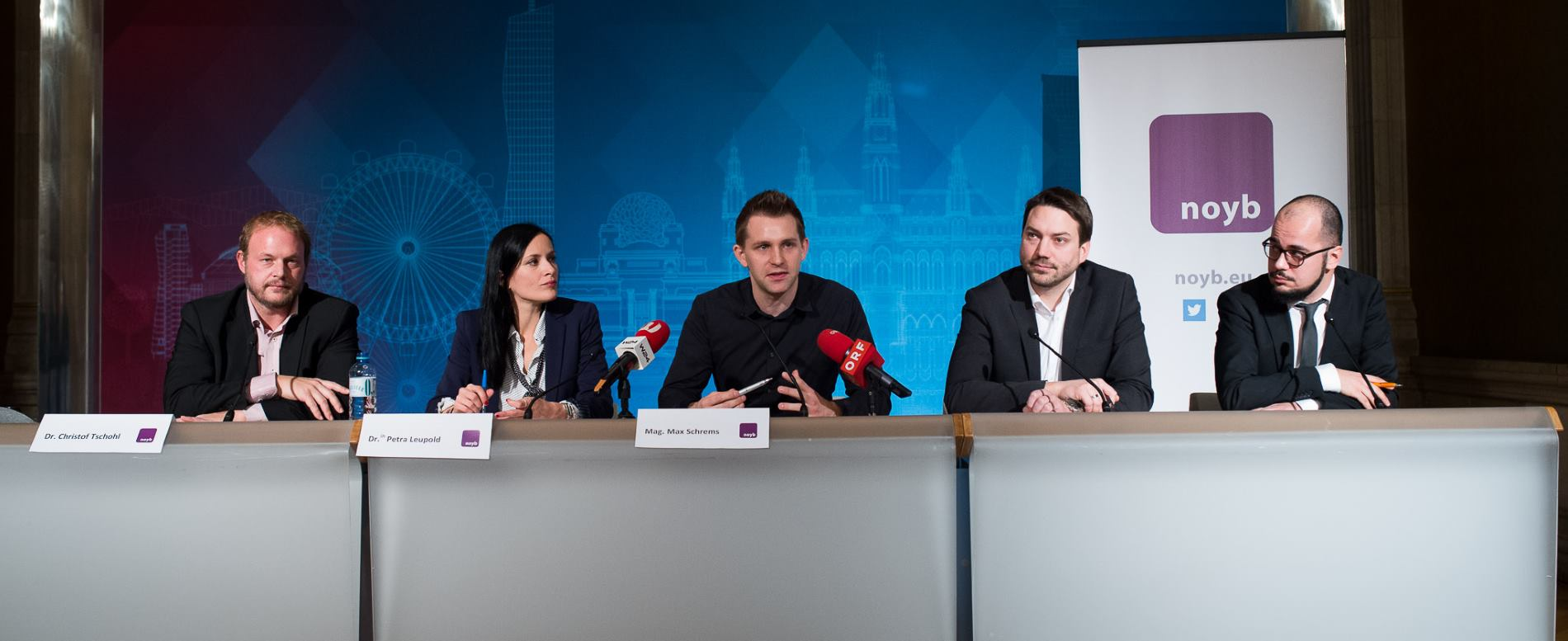 Čelnici Grada Beča odlučili pružiti podršku udruženju za zaštitu digitalnih prava – noyb
