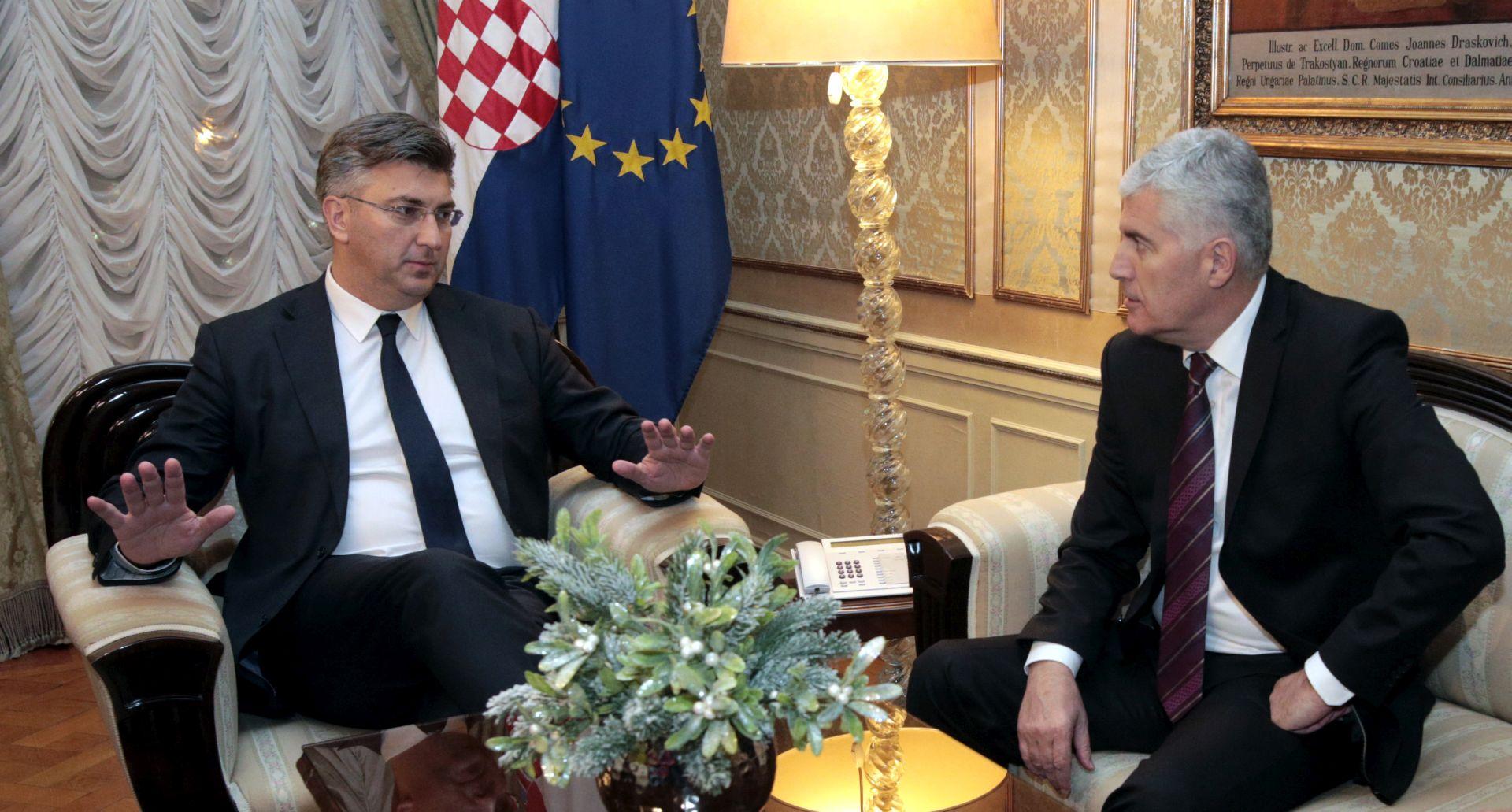 """""""SMIRIVANJE HRVATA"""" Plenković ima """"misiju"""" u Mostaru"""