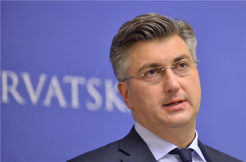 Premjer Plenković na Izboru gospodarstvenika i gospodarskog događaja godine