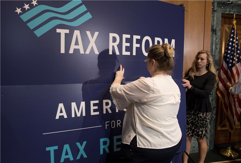 Povijesni projekt smanjenja poreza usvojen u Senatu