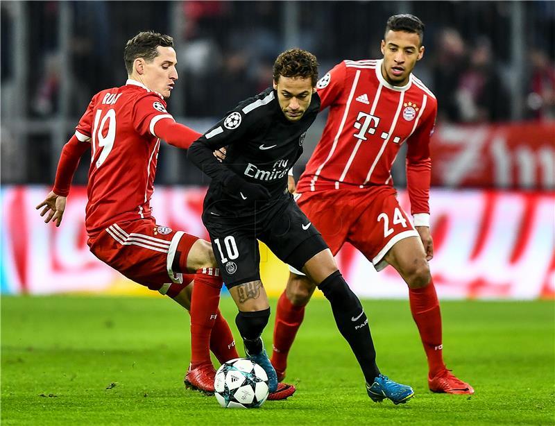 Bayernu pobjeda, PSG-u 'jedinica, prošli Juventus i ManU