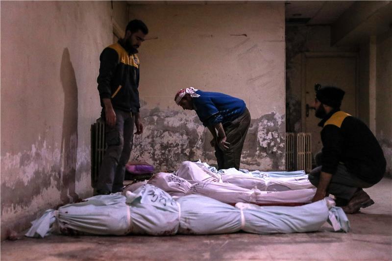 Vladine snage ubile 22 ljudi, većinom civila, pored Damaska