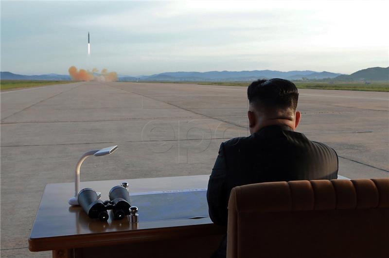 Sjeverna Koreja slavi uspješno ispaljivanje rakete