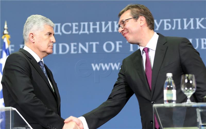 NAPETA PRESSICA U SRBIJI Izetbegović se suprotstavio Vučiću
