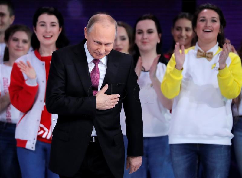 Putin će se ponovno kandidirati za predsjednički mandat 2018.