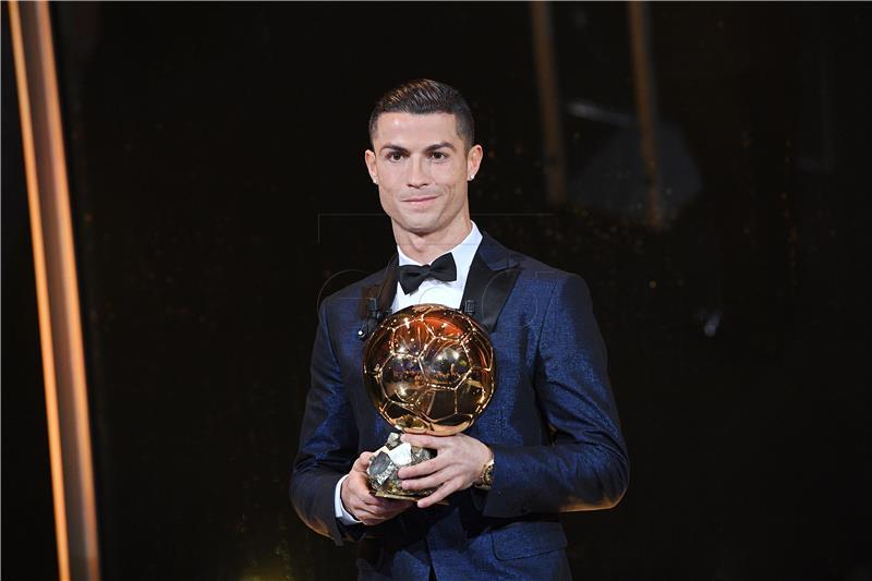 Ronaldu peta 'Zlatna lopta', Modrić na petom mjestu