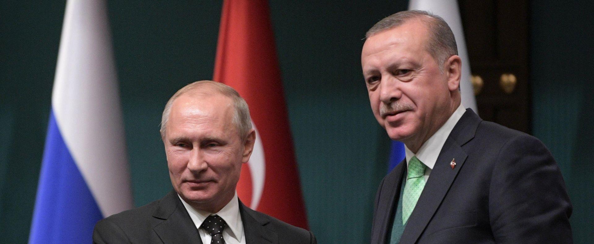 PUTIN & ERDOGAN: Rizik jačanja napetosti na Bliskom istoku