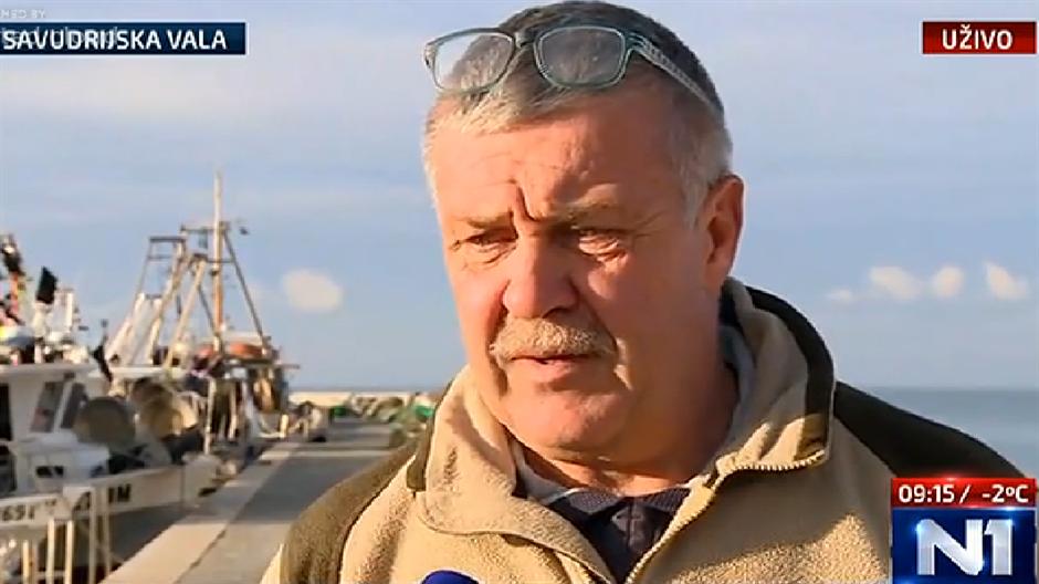 """SAVUDRIJSKI RIBAR: """"Slovenski inspektor gledao je što radimo"""""""
