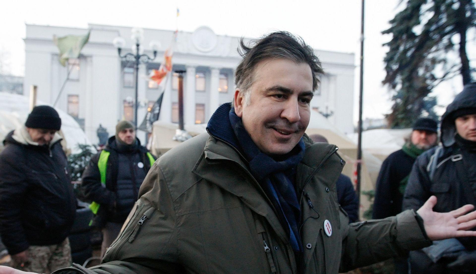 Mihail Saakašvili priveden u Ukrajini