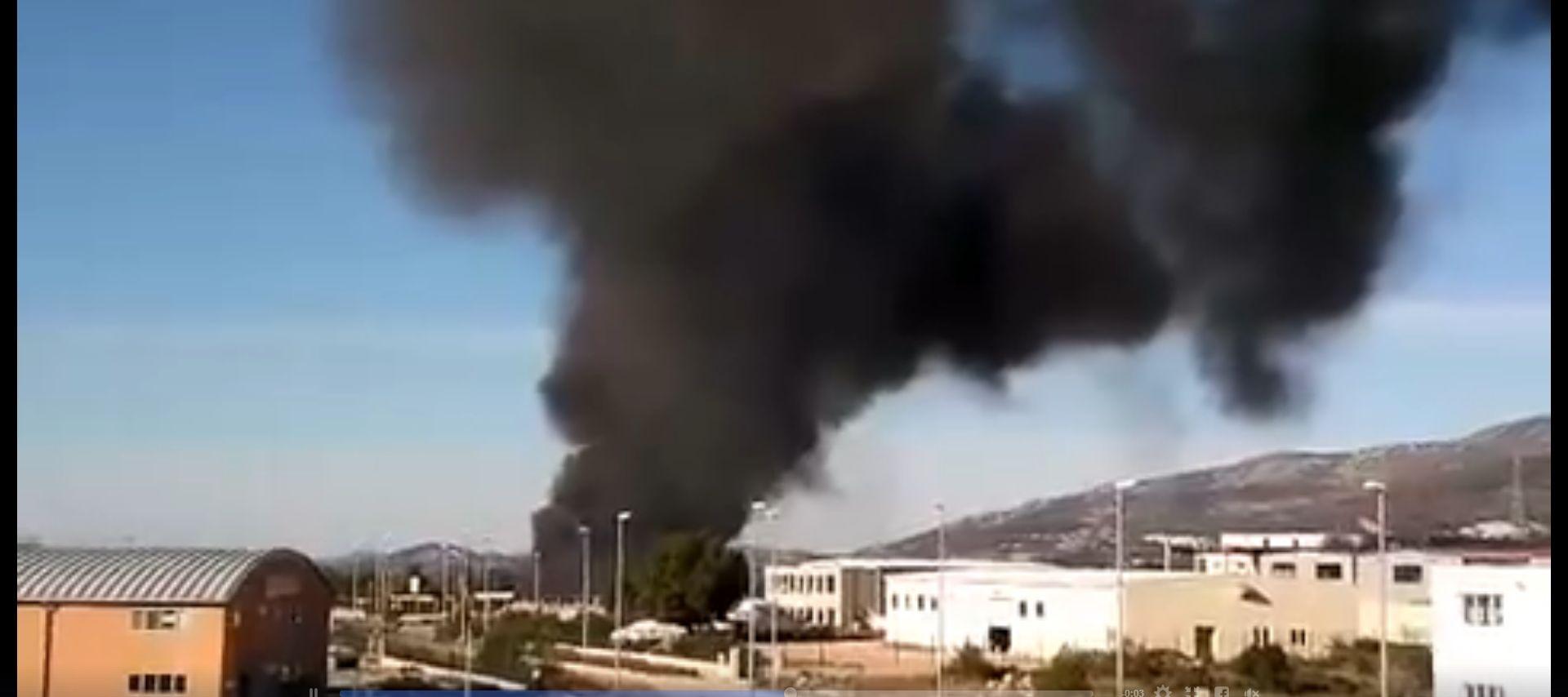 VIDEO: Planuo otpad na Podima, situacija pod kontrolom