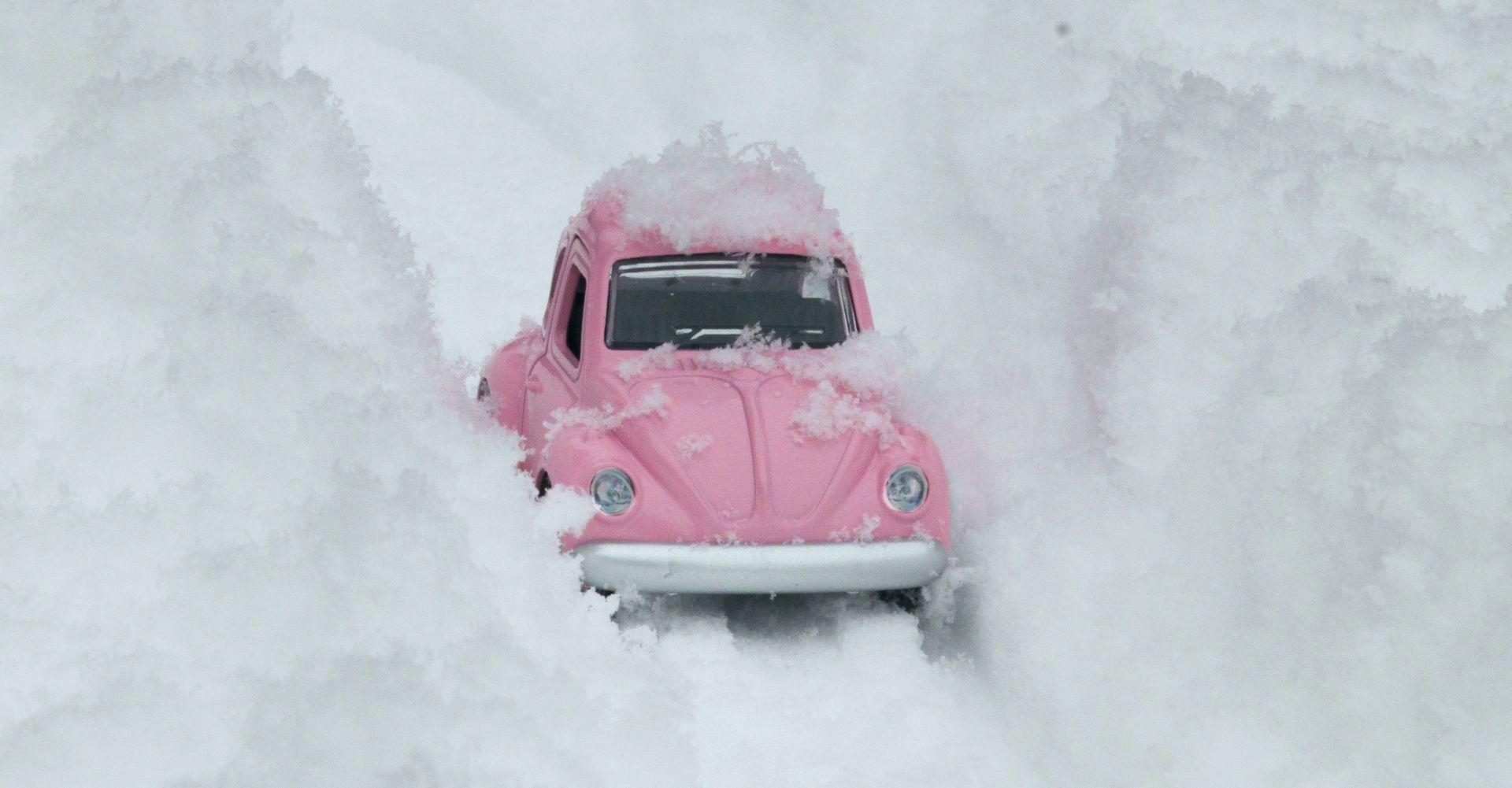 HAK: U Lici i Gorskom kotaru pada snijeg