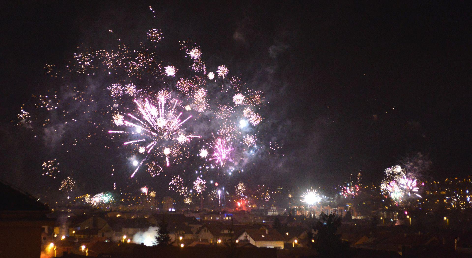 FOTO: Kako je Zagreb ušao u Novu godinu