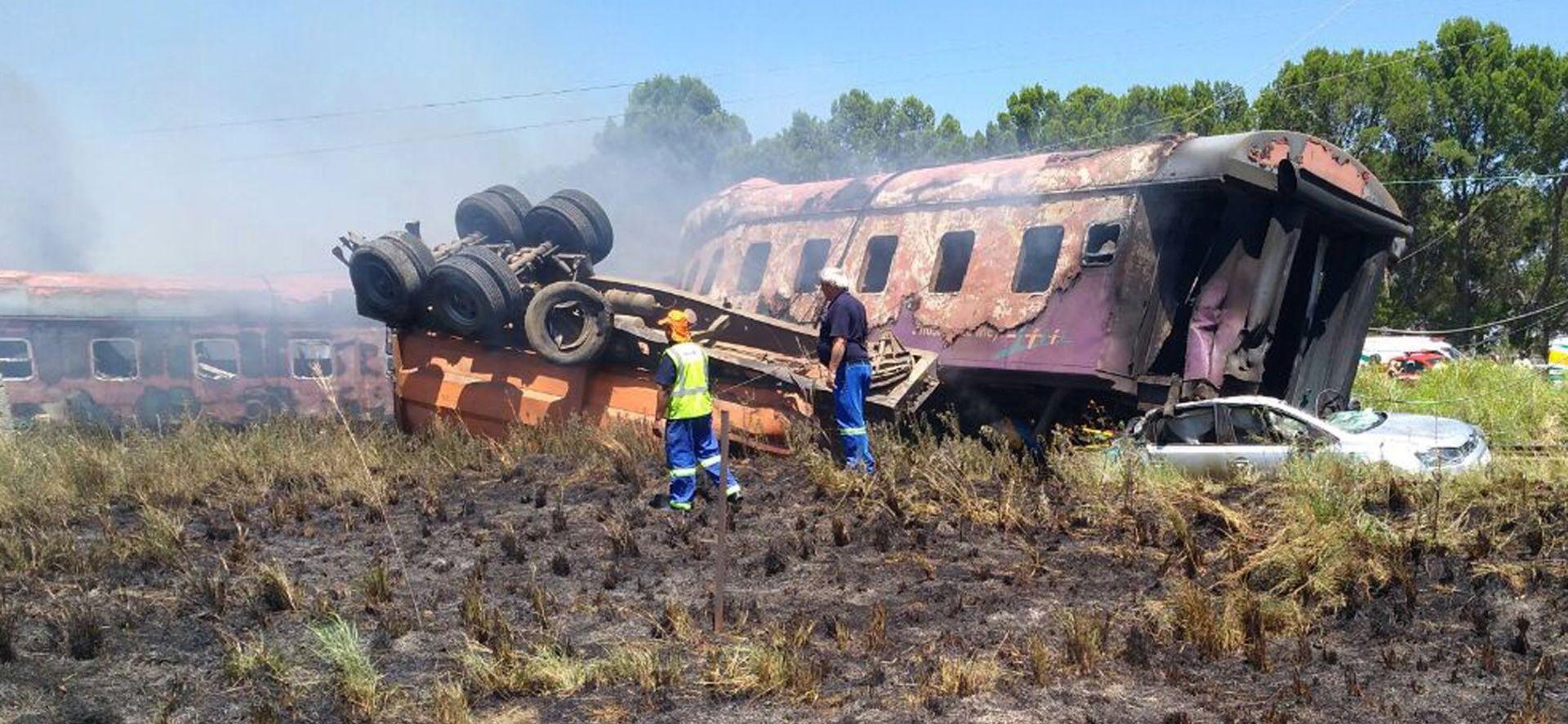 Najmanje 200 ozlijeđenih u sudaru vlakova u JAR-u