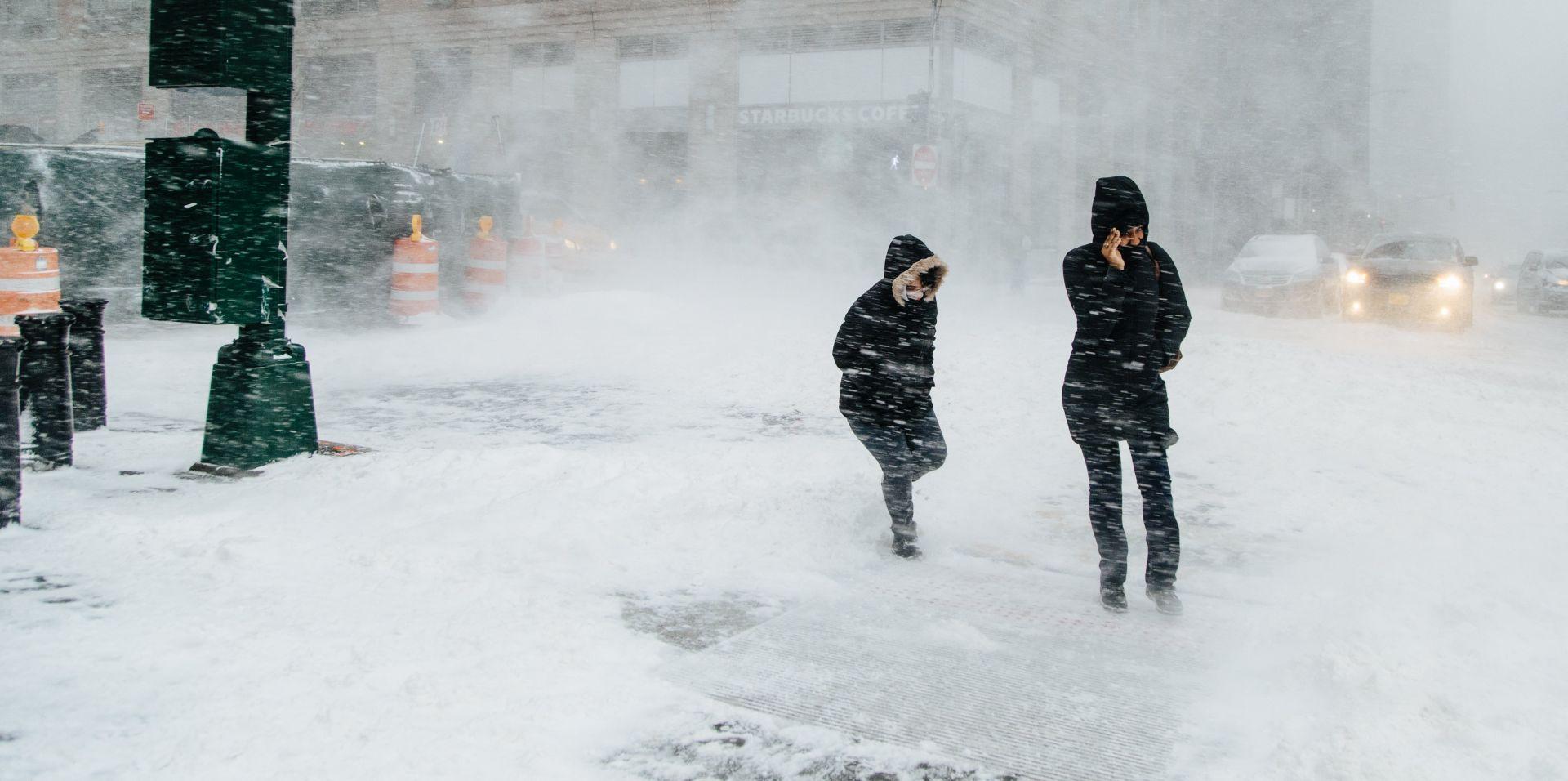 Polarna hladnoća okovala istočnu obalu SAD-a