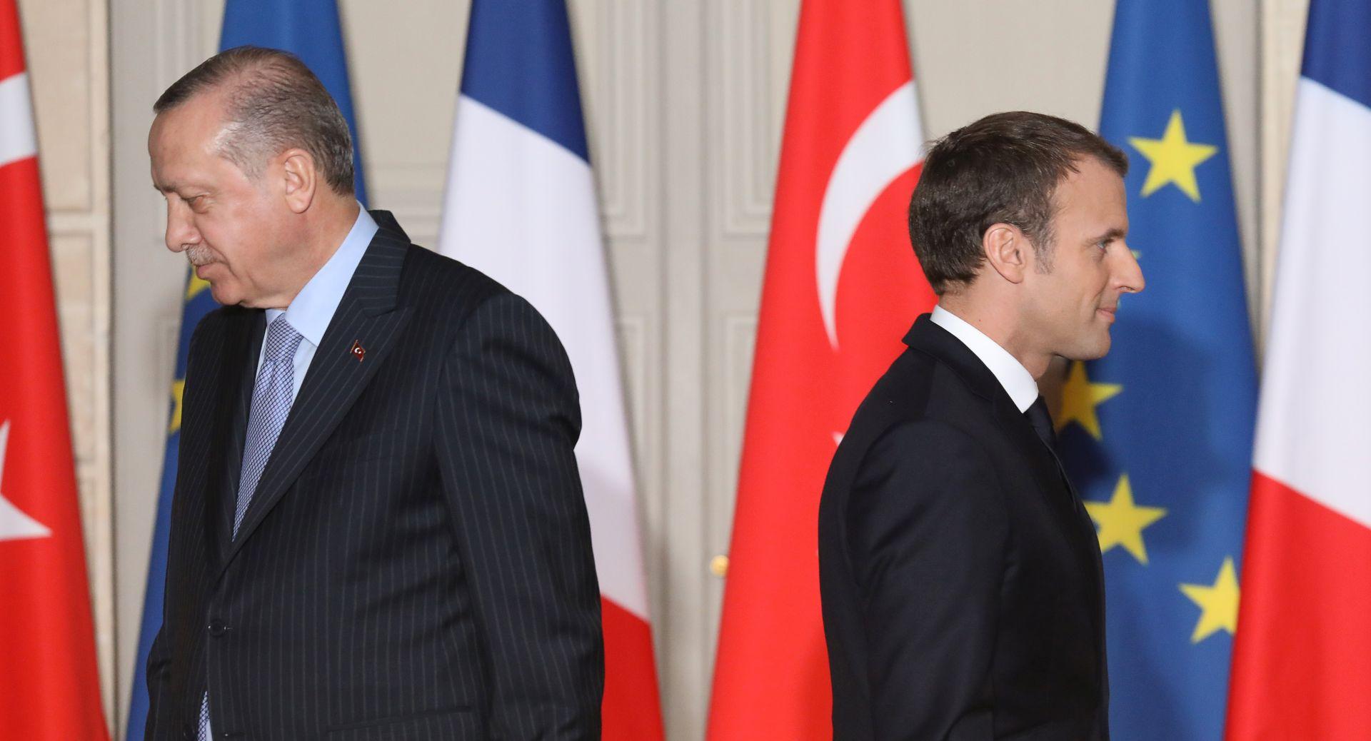 Macron upozorio Tursku zbog operacije u Siriji