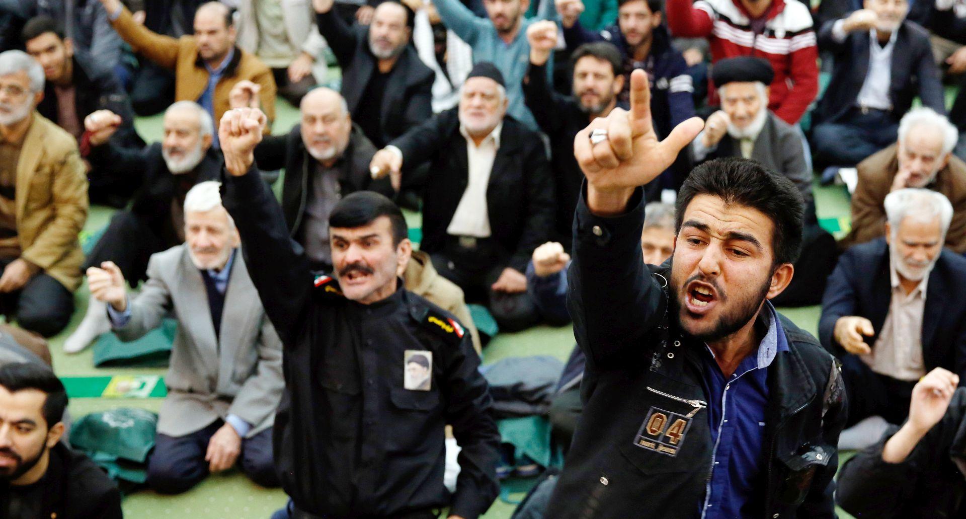 Iranski Čuvari revolucije kažu da su suzbili pobunu
