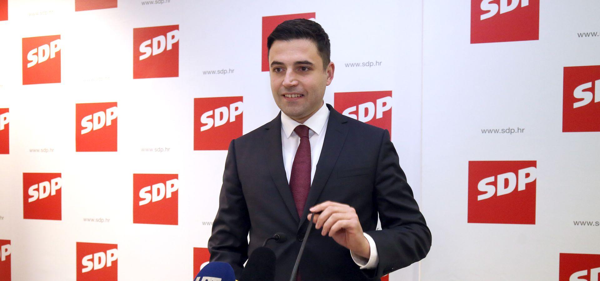 Bernardić o 3 'ključna plana rada SDP-a za 2018. godinu'