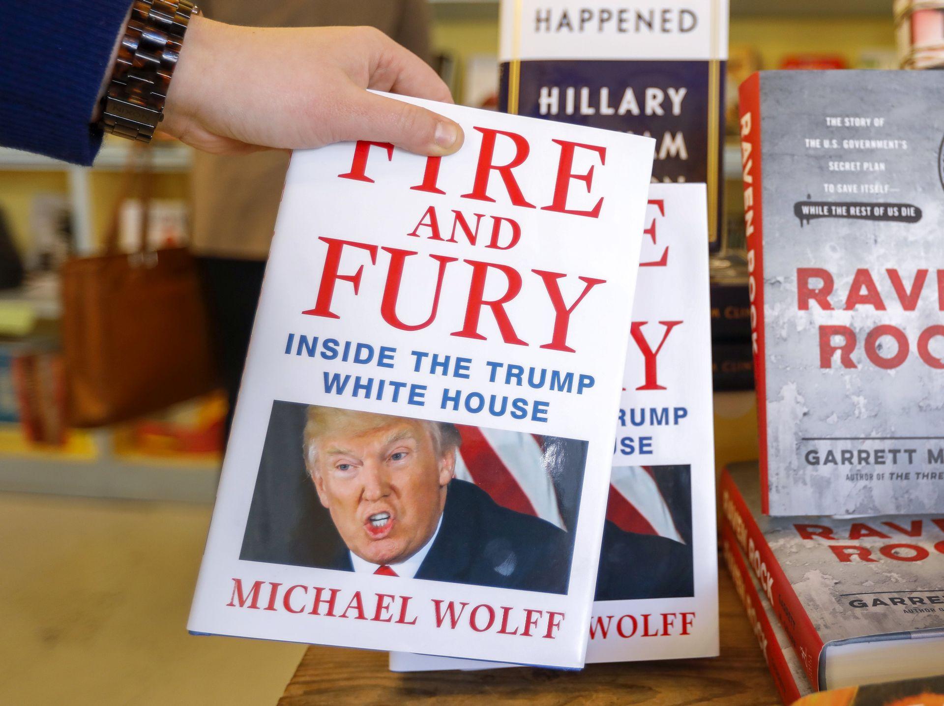 'Moja knjiga mogla bi okončati Trumpov predsjednički mandat'