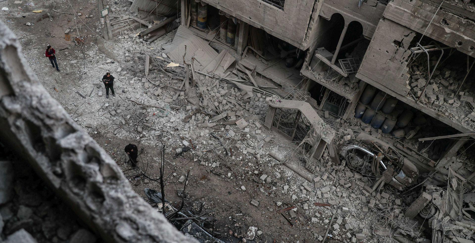 Sirijski režim kontrolira gotovo čitavu istočnu Ghoutu